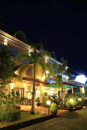 Thip Residence Boutique Hotel: Hotel view