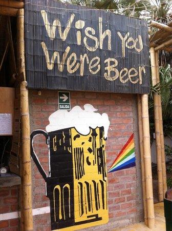 Kokopelli Hostel Paracas: El bar