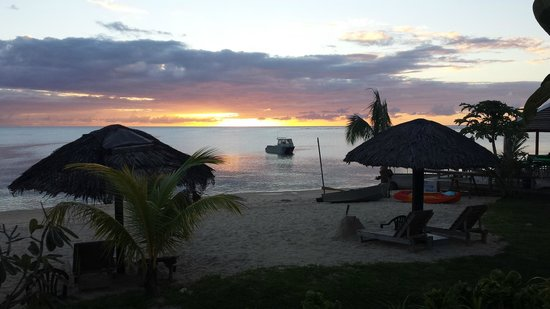 Savaii Lagoon Resort: Savai'i sunset