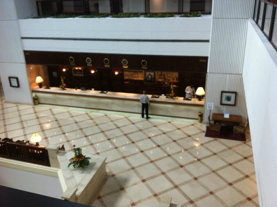 InterContinental Hotel Muscat : lobby