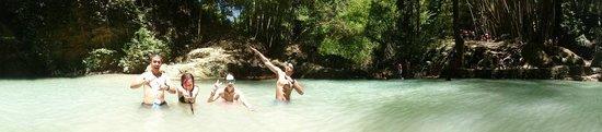 Tumalog Falls : Swimable waterfall