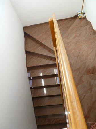 Villa Jerkan : опасная лестница