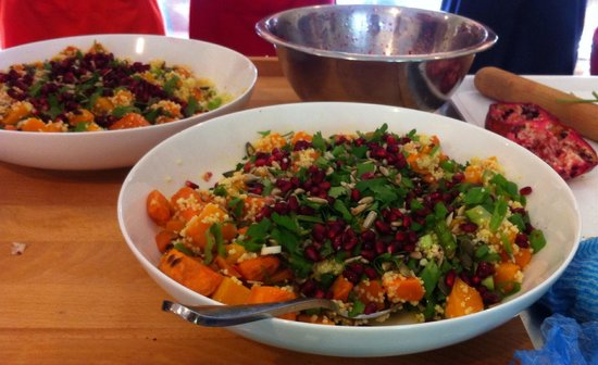 Tamborine Cooking School: Pumpkin and quinoa salad..so yum