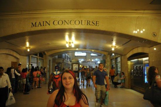 Me inside Grand Central Terminal