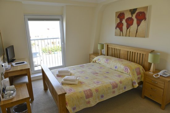 Saints Bay Hotel: one of our sea-sight room