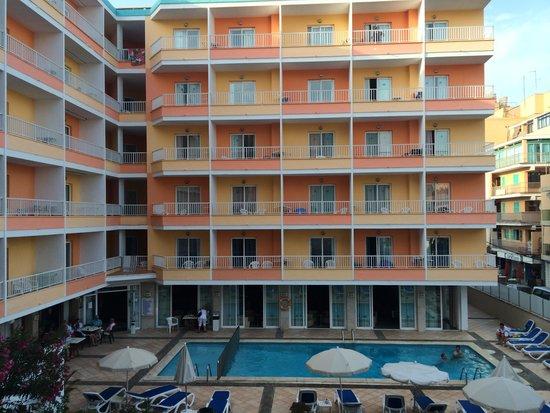 Hotel Calma : Vu de certaines chambre