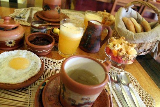 Hostal Llipimpac: Desayunos