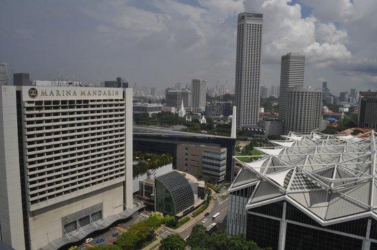 Pan Pacific Singapore: morning view