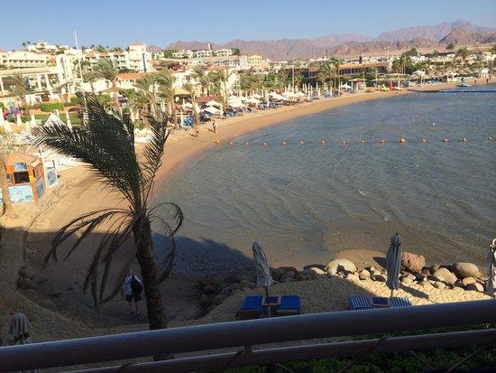 Lido Sharm Hotel : View from room balcony