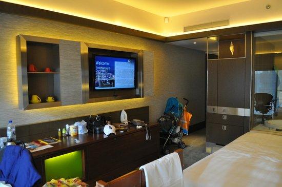 Pan Pacific Singapore : Panoramic room