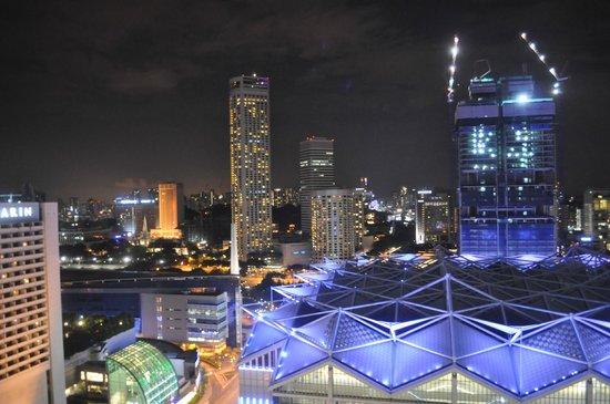 Pan Pacific Singapore : night view