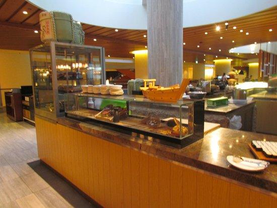 Pan Pacific Singapore : Breakfast area
