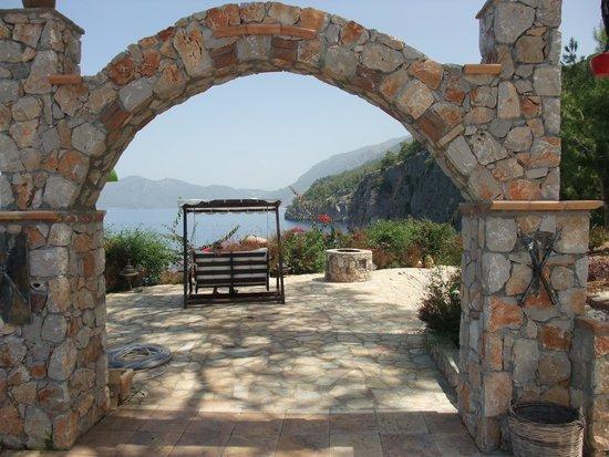 Zakros Hotel Lykia: View  towards Olu Deniz