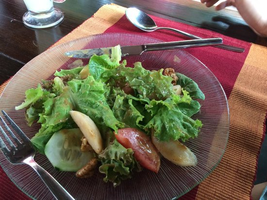 The Farm at San Benito: salad all the time!