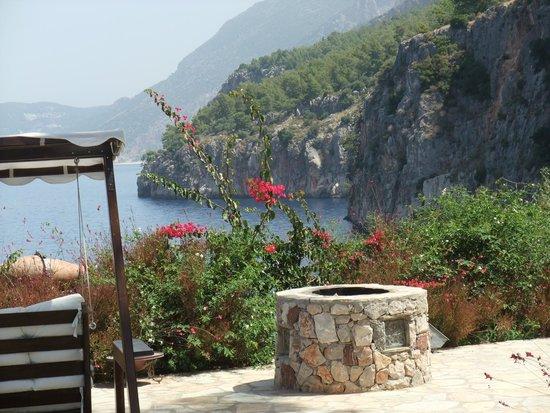 Zakros Hotel Lykia: Coastline