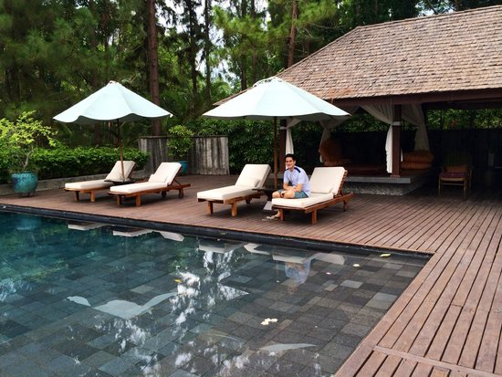 The Farm at San Benito: Pool by the Healing Sanctuary