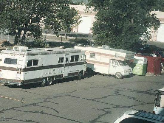 Howard Johnson Denver West : Broken down RVs