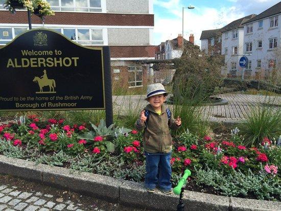 Aldershot Military Museum: Welcome to Aldershot