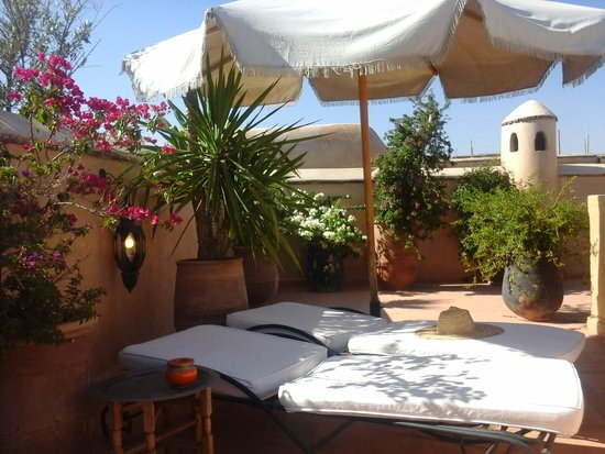 Riad Selouane: le toit terrasse