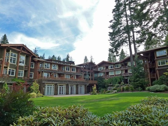 Alderbrook Resort & Spa: Hotel