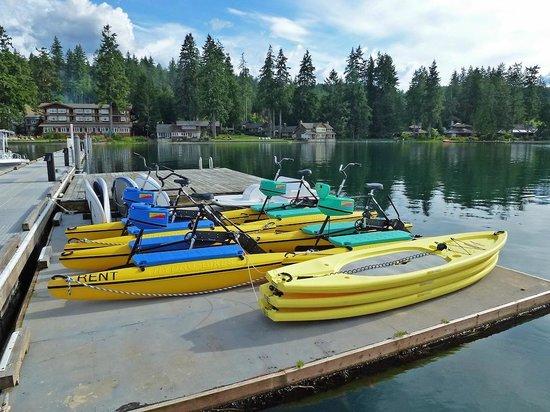 Alderbrook Resort & Spa: Watercrafts