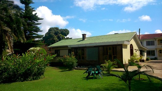 the outside view of Karibu Heritage House