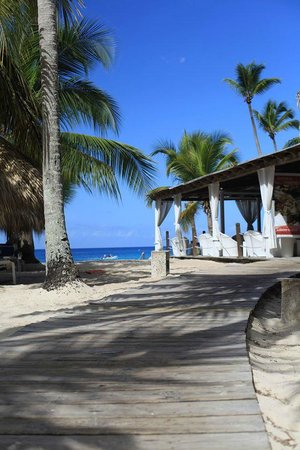 Catalonia Gran Dominicus: Beach with Privilege Restaurant