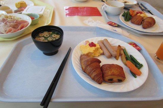 Hotel Nikko Huis Ten Bosch: ホテルの朝食