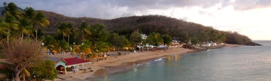 Langley Resort Hotel Fort Royal Guadeloupe : front beach