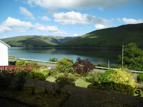Burnlea Bed & Breakfast : View from our room .