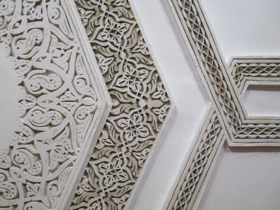Dar el Souk: Ceiling decoration