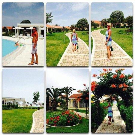 Mayor Capo Di Corfu: Бассейн и территория отеля