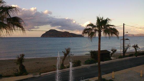 Porto Platanias Beach Resort & Spa: view from main restaurant
