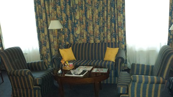 Radisson Royal Hotel, St.Petersburg : Couches in business class room