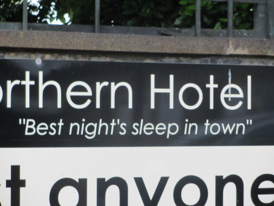 Great Northern Hotel: Oh no you don't!!!!!