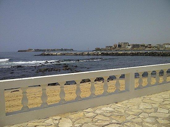 King Fahd Palace: the beach area