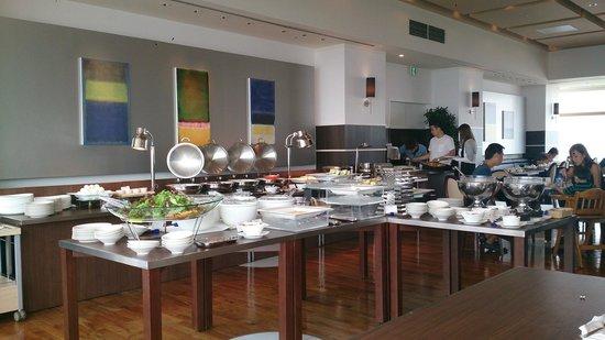 Shibuya Excel Hotel Tokyu : Breakfast