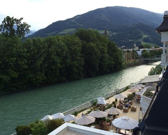 Grand Hotel Lienz: View from room