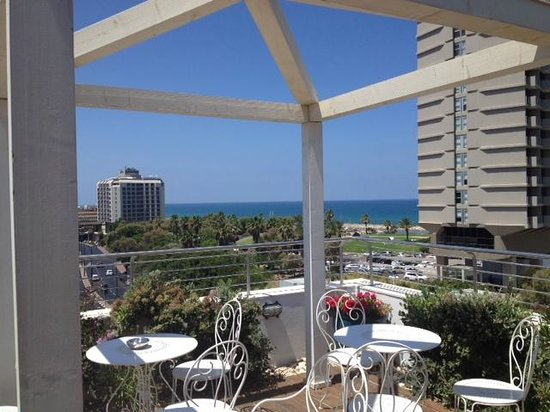 Shalom Hotel & Relax Tel Aviv - an Atlas Boutique Hotel: Wonderful landscape from Shalom rooftop