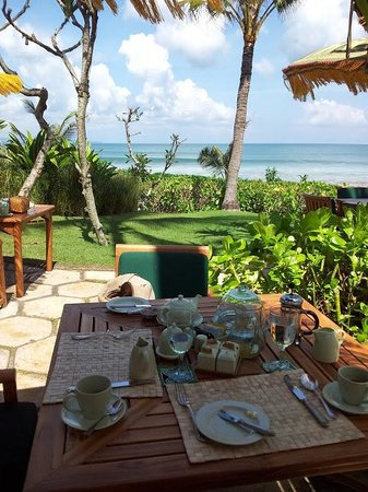 The Oberoi Bali: what a breakfast!