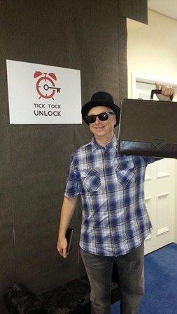 Tick Tock Unlock: Detective David