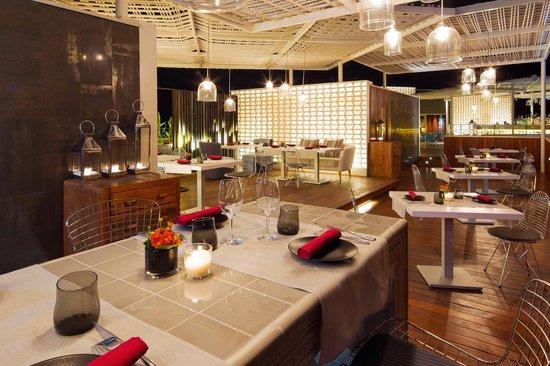 Aguas de Ibiza: Restaurante Vi Cool, Roof Top