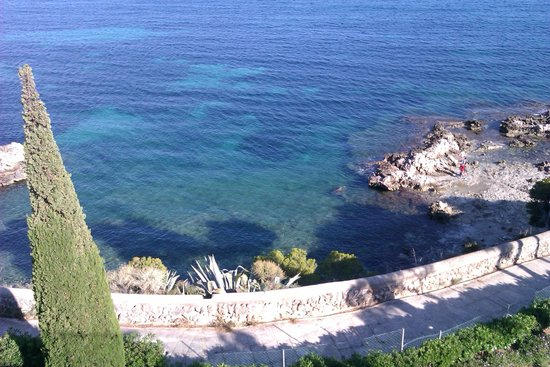 Apartotel Ponent Mar: Snorkelling on private beach
