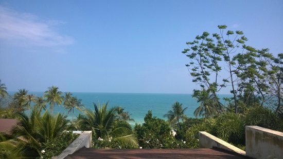 New Star Beach Resort: The view from the SPA
