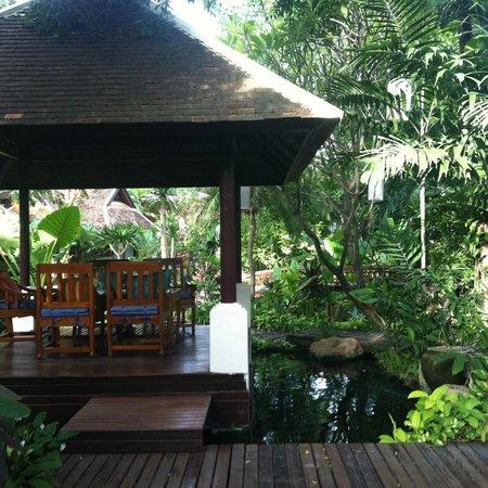 Chaweng Regent Beach Resort : shared outdoor area