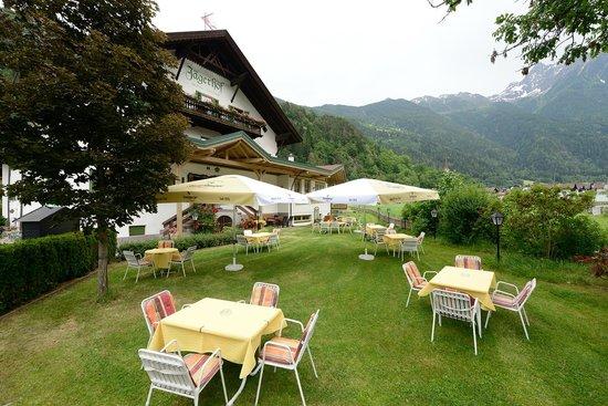 Hotel Jagerhof : Garten