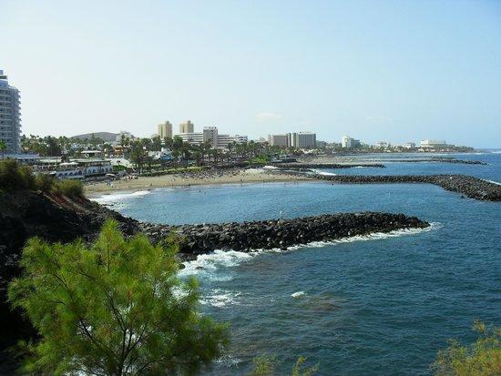 Hotel Jardin Tropical : Plages de Los Cristianos