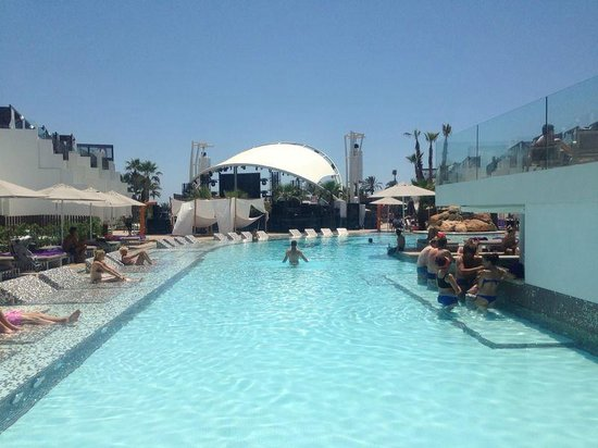 Hard Rock Hotel Ibiza: Pool