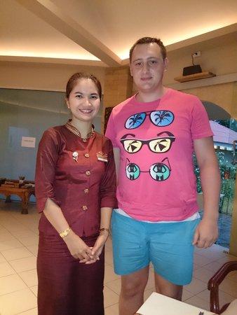 The Siam Residence Boutique Resort: С администратором KookKai
