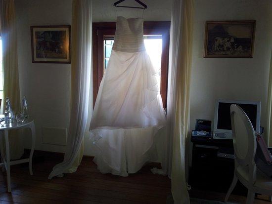 Villa Foscarini Cornaro: Stanza dove si prepara la sposa